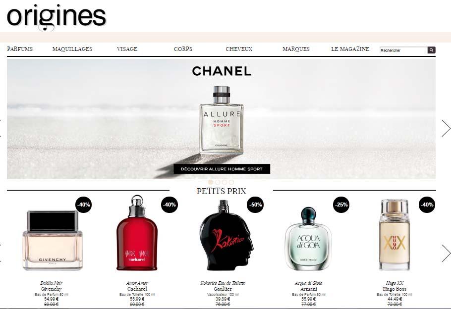 Top 5 des meilleurs sites de vente de parfums en ligne - Top des sites de vente en ligne ...