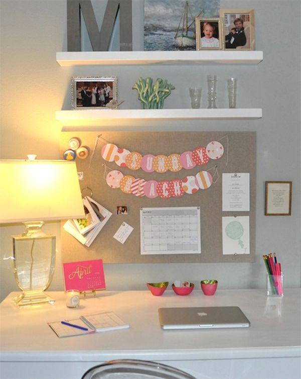 Bureau pour petit espace awesome voil mon petit coin moi - Bureau pour petit espace ...