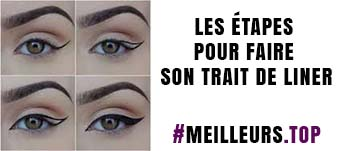application de votre eyeliner