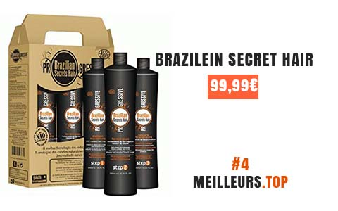 brasilien secret hair lissage