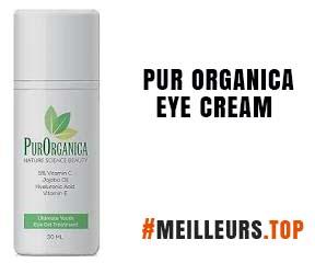 pur organica eye cream
