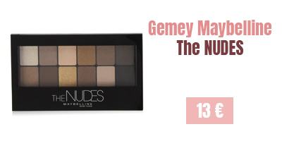 Gemey Maybelline - The Nudes