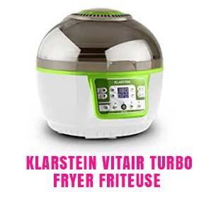 Klarstein VitAir Turbo Fryer Friteuse