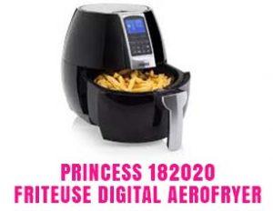 Princess 182020 - Friteuse Digital Aerofryer