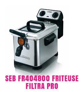 Seb FR404800 Friteuse Filtra Pro