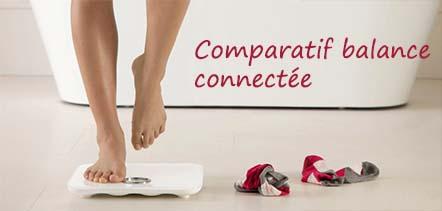 test et comparatif balances connectées