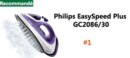 Philips EasySpeed Plus GC2086/30 fer à vapeur