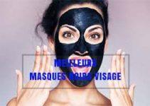 meilleurs masques noirs visage