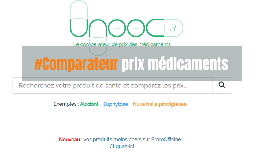 comparateur prix médicaments
