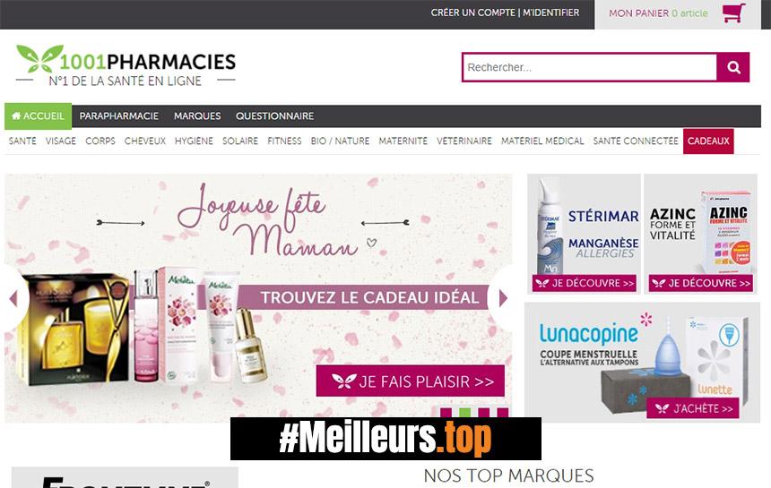 meilleure pharmacie en ligne