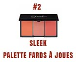 sleek palette fars à joues