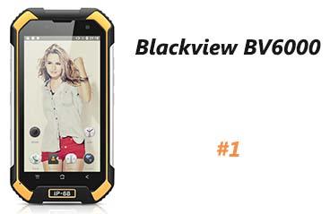 Blackview BV6000 Smartphone résistant