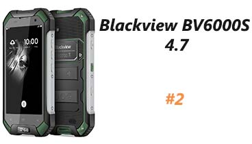 Blackview BV6000S 4.7 smartphone résistant