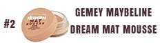 Gemey Maybeline Dream mat Mousse