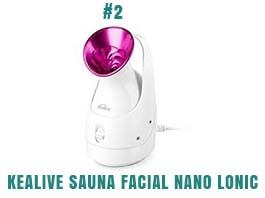 Kealive Sauna Facial Nano Lonic