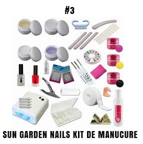 Sun garden nails kit de manucure