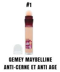 Gemey Maybelline anti-cerne et anti age
