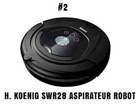 H. Koenig SWR28 aspirateur robot