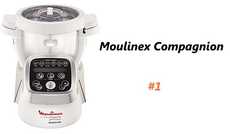 Moulinex Compagnion équivalent à Thermomix