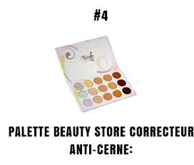 Palette beauty store correcteur anti-cerne