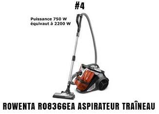 Rowenta R08366EA aspirateur traîneau