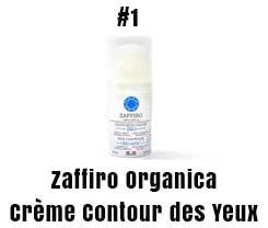 Zafiro organica Crème Contour des Yeux