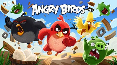 Angry Birds meilleur jeu Facebook