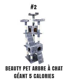 Beauty pet arbre à chat géant 5 calories