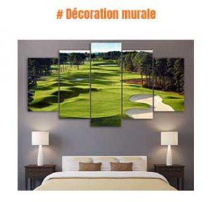 Décoration murale golf