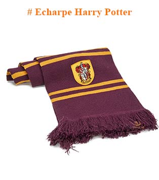 Echarpe Harry Potter