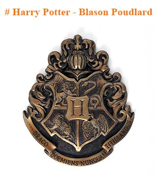 Harry Potter Blason Poudlard
