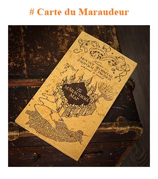 Harry Potter Carte du Maraudeur