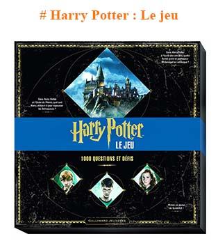 cadeau Harry Potter jeu