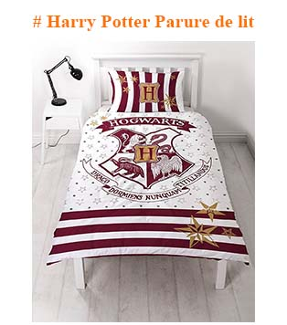 Harry Potter Parure de lit