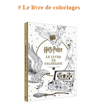 Harry Potter livre de coloriages
