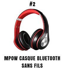 Mpow casque Bluetooth sans fils