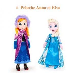 Peluche Anna et Elsa