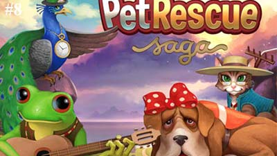 Pet rescue saga jeu Facebook