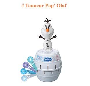 Pop Olaf jeu Reine des neiges