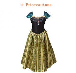 déguisement Pricesse Anna Reine de neiges