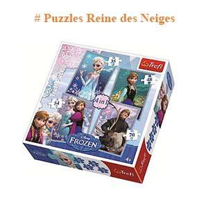 Puzzles Reine des Neiges