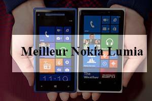 Quel est le Meilleur Nokia Lumia?