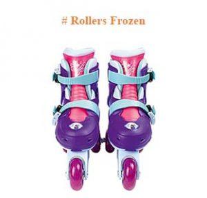 Rollers frozen