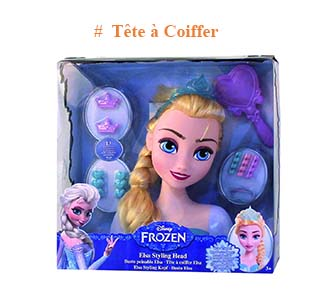 Tête à Coiffer Frozen