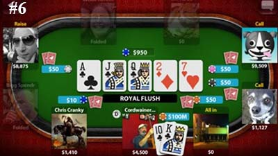 TEXAS HOLDEM POKER jeu Facebook