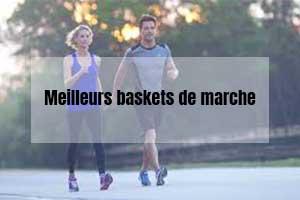 meilleurs baskets confortables de marche