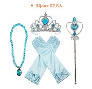 bijoux elsa reine des neiges