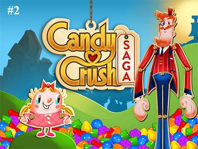 candy crush meilleur jeu Facebook