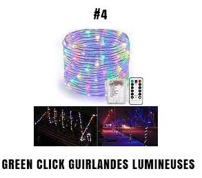 Green Click guirlandes lumineuses