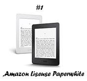 Amazon Liseuse Paperwhite, écran haute résolution